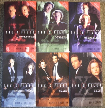 Books Jonathan S X Files Collection