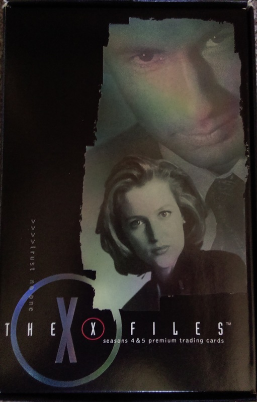 X Files Seasons 4 /&5 I Want To Believe Chase Card P3